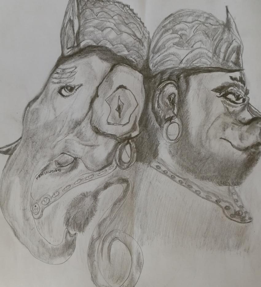 Ganesha by vinodnair
